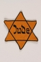 Star of David badge printed with Jude worn to identfiy a Jew in Vienna