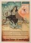 War propaganda poster mapping German military conquests