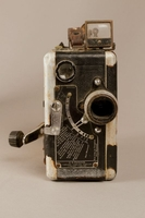 Stan Baker collection, 16mm film camera Kodak 16mm movie camera used by an American in prewar Vienna  Click to enlarge