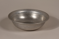 1990.36.17 front Metal basin  Click to enlarge