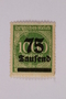 Postage stamp, 1000 mark, issued in Germany during hyperinflation in the Weimar Republic