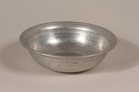 1990.36.20 front Metal basin  Click to enlarge