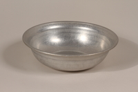 1990.36.21 front Metal basin  Click to enlarge
