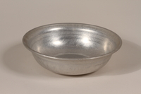 1990.36.24 front Metal basin  Click to enlarge