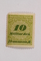 Postage stamp, 10 milliarden mark, issued in Germany during hyperinflation in the Weimar Republic