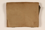 Handmade canvas folder used by a Hungarian Jewish refugee