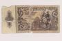 Austria paper currency note, 10 schillings, issued postwar