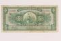 Peru currency note, 5 soles de oro, issued postwar