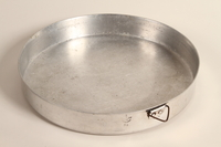 2009.354.1 top Aluminum cooking pot used by a Greek Jewish family  Click to enlarge