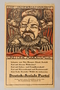 German Socialist Party election poster depicting Lenin as a monster