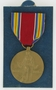 US Army Victory Medal, two ribbon bars and presentation box awarded to a Czech Jewish refugee