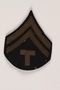 US Army technician shoulder patch that belonged to a German Jewish refugee