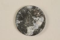 1990.60.12 back Łódź (Litzmannstadt) ghetto scrip, 5 mark coin  Click to enlarge