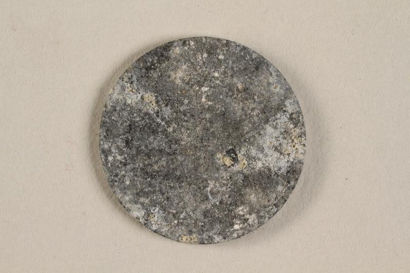 1990.60.13 back Łódź (Litzmannstadt) ghetto scrip, 5 mark coin