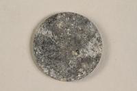 1990.60.13 back Łódź (Litzmannstadt) ghetto scrip, 5 mark coin  Click to enlarge