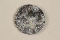 1990.60.15 back Łódź (Litzmannstadt) ghetto scrip, 5 mark coin  Click to enlarge