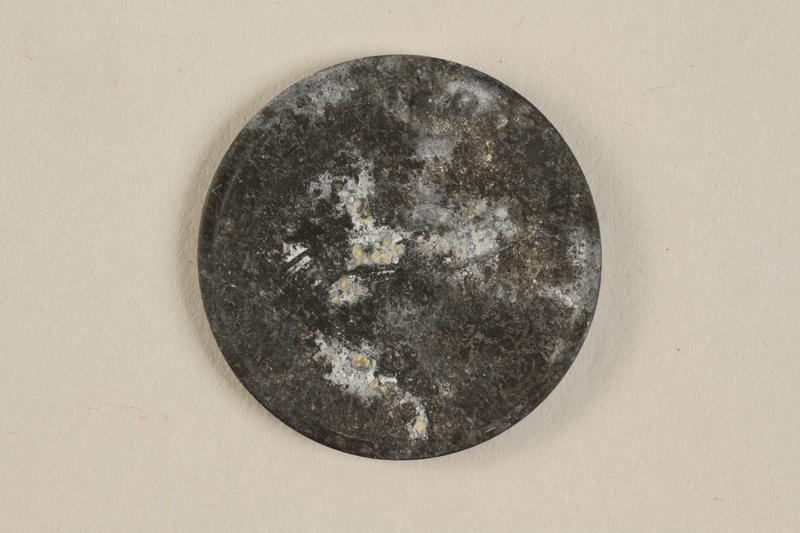 1990.60.16 back Łódź (Litzmannstadt) ghetto scrip, 5 mark coin