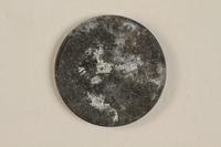 1990.60.16 back Łódź (Litzmannstadt) ghetto scrip, 5 mark coin  Click to enlarge