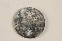1990.60.17 back Łódź (Litzmannstadt) ghetto scrip, 5 mark coin  Click to enlarge