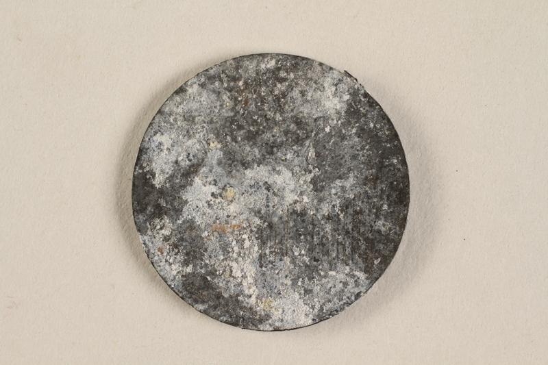 1990.60.19 front Łódź (Litzmannstadt) ghetto scrip, 5 mark coin