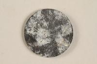 1990.60.19 back Łódź (Litzmannstadt) ghetto scrip, 5 mark coin  Click to enlarge