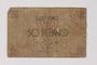 Lodz (Litzmannstadt) ghetto scrip, 50 pfennig note