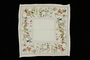 Silk circus print handkerchief brought to the US by a Jewish family fleeing German occupied Poland