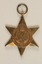 1939-1945 Star Medal and ribbon awarded to an Austrian Jewish woman for service in the British Auxiliary Territorial Division
