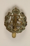 Auxiliary Territorial Service cap badge worn by an Austrian Jewish woman in the British Auxiliary