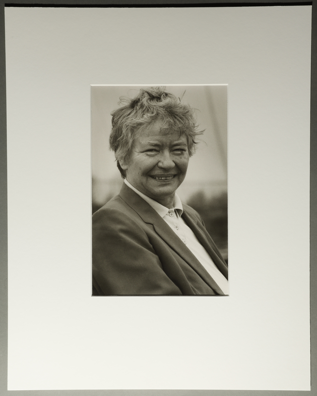 2010.206.5 front Portrait photograph by Judy Glickman of Danish woman who rescued several 100 people