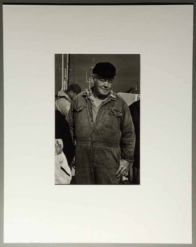 2010.206.7 front Portrait photograph by Judy Glickman of Danish fisherman who ferried Jews to safety