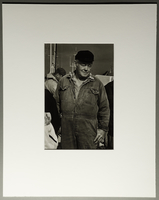 2010.206.7 front Portrait photograph by Judy Glickman of Danish fisherman who ferried Jews to safety  Click to enlarge