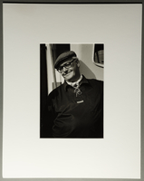 2010.206.9 front Portrait photograph by Judy Glickman of Danish fisherman who helped take Jews to safety  Click to enlarge