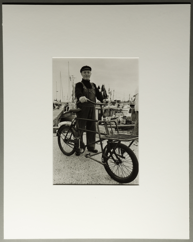 2010.206.11 front Portrait photograph by Judy Glickman of Danish fisherman who hid and ferried Jews to safety