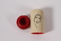 Art Deco style lipstick case carried by a Jewish refugee while searching for her family