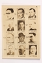 Unused sheet of paper for use by a Dutch resistance member to forge identity cards