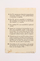 2010.441.95 back Unused sheet of paper for use by a Dutch resistance member to forge identity cards  Click to enlarge
