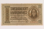 Occupation currency note, 200 Karbowanez, issued by Nazi Germany in eastern Poland