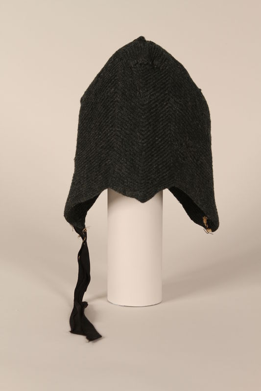 1991.111.1 front Cap worn by a young girl in a concentration camp