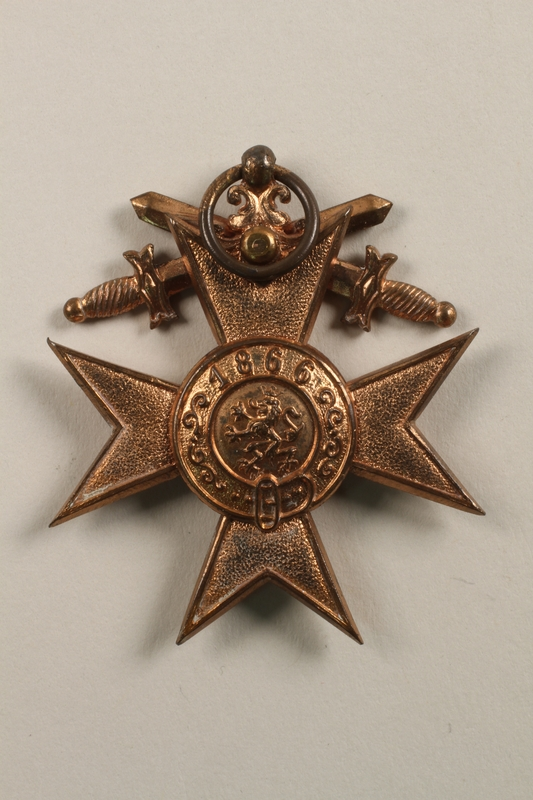 Wwi Military Merit Cross 3rd Class With Swords And Fitted Box