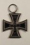 WWI Iron Cross medal awarded to a German Jewish veteran