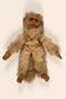 Stuffed toy monkey used to smuggle money by Austrian Jewish woman