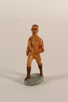 1991.120.1 front Hausser uniformed SA toy soldier with swastika armband  Click to enlarge