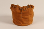 Pouch with a false base used by a German Jewish émigré to smuggle money out of the country