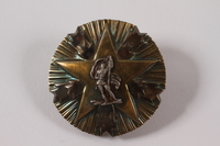 2011.108.25 a front Orden Zasluge Za Narod awarded to a Macedonian Jewish partisan woman  Click to enlarge
