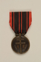 French Médaille de la Résistance with ribbon awarded to a German Jewish resistance fighter
