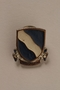 Set of US Army 405th Infantry Regiment lapel pins acquired by a US soldier
