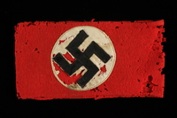 1991.139.6 front Nazi Party armband  Click to enlarge