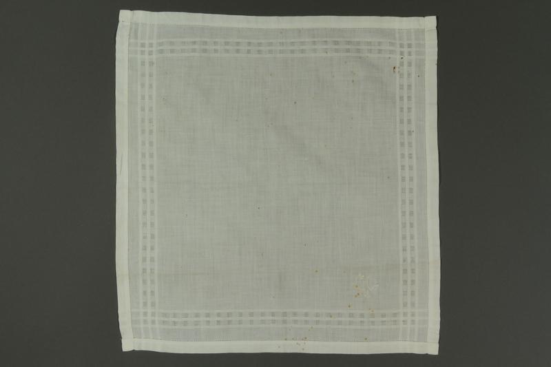 2011.428.15 front Handkerchief