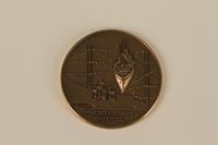 1991.147.1.1 back Medal awarded in Israel  Click to enlarge
